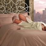 Постельное белье Maison Dor HELENA хлопковый сатин грязно-розовый евро, фото, фотография