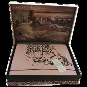 Постельное белье Maison Dor JEAN PIERRE хлопковый сатин грязно-розовый евро