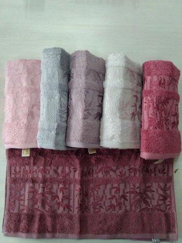 Набор полотенец для ванной 6 шт. Efor BMB-20 бамбуковая махра 70х140, фото, фотография