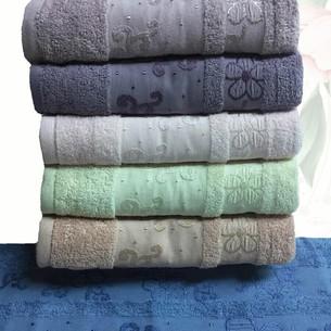 Набор полотенец для ванной 6 шт. Efor DAISY хлопковая махра 70х140