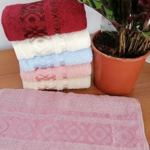 Набор полотенец для ванной 6 шт. Efor GEOMETRIK хлопковая махра 70х140