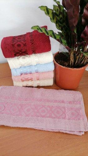 Набор полотенец для ванной 6 шт. Efor GEOMETRIK хлопковая махра 30х50, фото, фотография