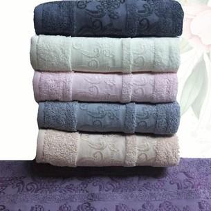 Набор полотенец для ванной 6 шт. Efor LEYLAK хлопковая махра 70х140