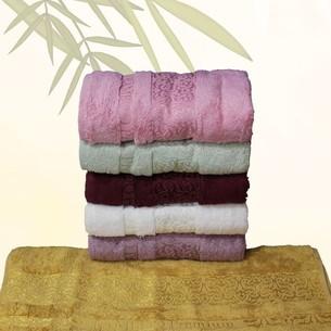 Набор полотенец для ванной 6 шт. Efor LINA бамбуковая махра 70х140