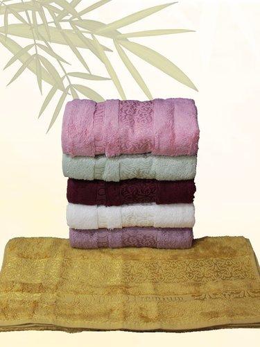 Набор полотенец для ванной 6 шт. Efor LINA бамбуковая махра 70х140, фото, фотография