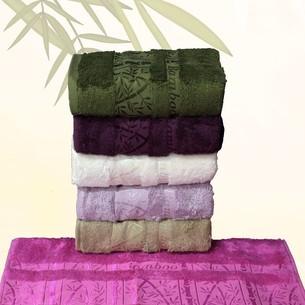 Набор полотенец для ванной 6 шт. Efor PALMIYE бамбуковая махра 70х140