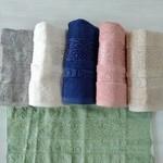 Набор полотенец для ванной 6 шт. Efor PREMIUM бамбуковая махра 70х140, фото, фотография