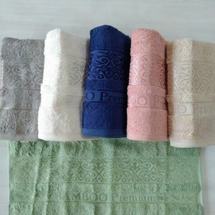 Набор полотенец для ванной 6 шт. Efor PREMIUM бамбуковая махра 70х140