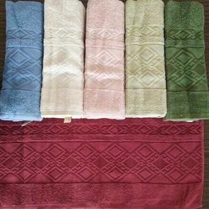 Набор полотенец для ванной 6 шт. Efor ZERON хлопковая махра 70х140