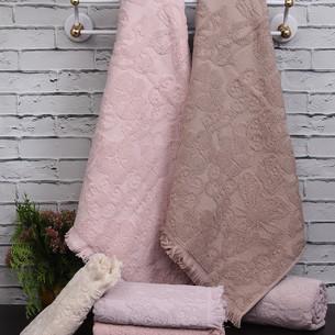Набор полотенец для ванной 4 шт. Pupilla MAYA хлопковая махра 50х90