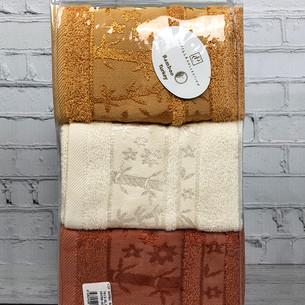 Набор полотенец для ванной 6 шт. Pupilla ELIT бамбуковая махра V2 30х50