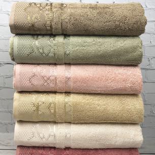 Набор полотенец для ванной 6 шт. Pupilla DESTAN бамбуковая махра 70х140