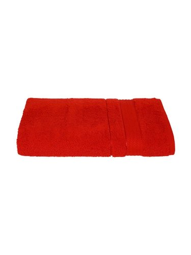 Набор полотенец для ванной 12 шт. Ozdilek TRENDY хлопковая махра красный 50х90, фото, фотография