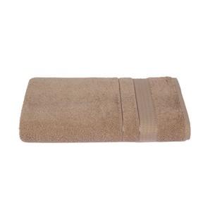 Набор полотенец для ванной 6 шт. Ozdilek TRENDY хлопковая махра светло-кофейный 70х140