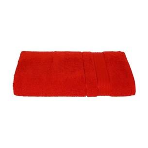 Набор полотенец для ванной 6 шт. Ozdilek TRENDY хлопковая махра красный 90х150