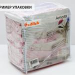 Набор полотенец для ванной 6 шт. Ozdilek TRENDY хлопковая махра светло-кремовый 90х150, фото, фотография