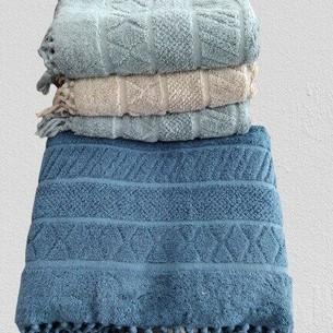Набор полотенец для ванной 4 шт. Pupilla LUNA хлопковая махра 50х90