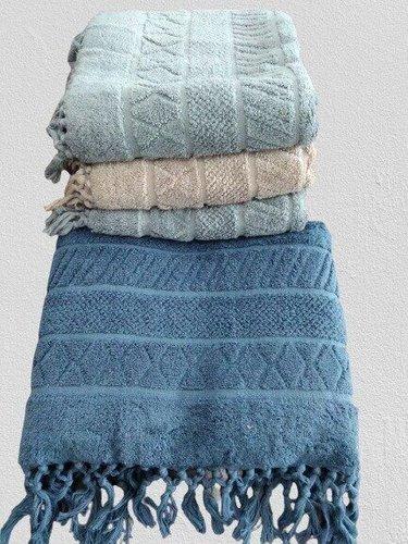 Набор полотенец для ванной 4 шт. Pupilla LUNA хлопковая махра 50х90, фото, фотография