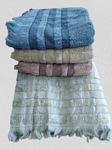 Набор полотенец для ванной 4 шт. Pupilla PETRA хлопковая махра 70х140, фото, фотография