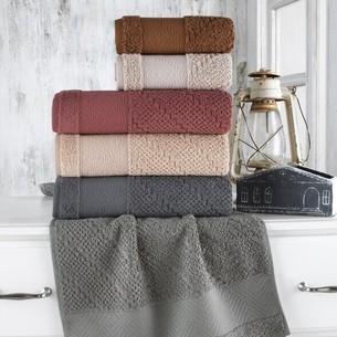 Набор полотенец для ванной 6 шт. Sikel BRUSHKA хлопковая махра 70х140