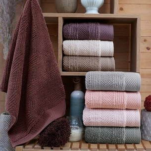 Набор полотенец для ванной 4 шт. Sikel JULIET хлопковая махра V1 70х140