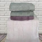 Набор полотенец для ванной 4 шт. Sikel JULIET хлопковая махра V2 50х90, фото, фотография