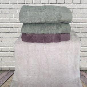 Набор полотенец для ванной 4 шт. Sikel JULIET хлопковая махра V2 70х140