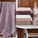 Набор полотенец для ванной 6 шт. Sikel MOR SALKIM хлопковая махра 50х90, фото, фотография