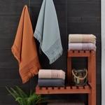 Набор полотенец для ванной 6 шт. Sikel ORIENT хлопковая махра 50х90, фото, фотография