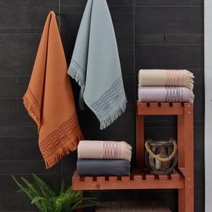 Набор полотенец для ванной 6 шт. Sikel ORIENT хлопковая махра 70х140