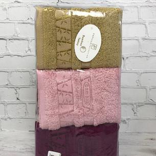 Набор полотенец для ванной 6 шт. Pupilla GOLD бамбуковая махра 30х50