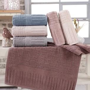 Набор полотенец для ванной 6 шт. Sikel PIANO хлопковая махра 70х140