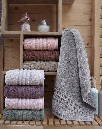Набор полотенец для ванной 4 шт. Sikel ROMEO хлопковая махра V1 50х90, фото, фотография
