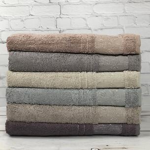 Набор полотенец для ванной 6 шт. Pupilla KRISTAL бамбуковая махра 70х140