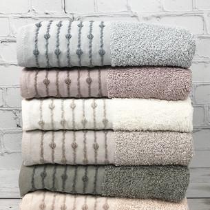 Набор полотенец для ванной 6 шт. Pupilla LONA хлопковая махра 50х90