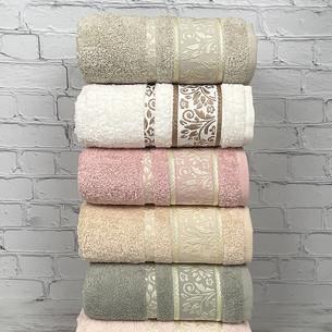 Набор полотенец для ванной 6 шт. Pupilla VIOLA хлопковая махра 50х90