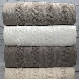 Набор полотенец для ванной 4 шт. Pupilla LIFE хлопковая махра 70х140