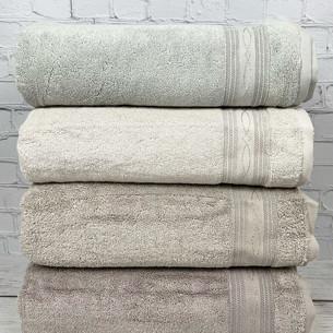 Набор полотенец для ванной 4 шт. Pupilla ALYANS хлопковая махра 70х140