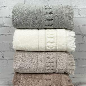 Набор полотенец для ванной 4 шт. Pupilla ELMIRA хлопковая махра 50х90