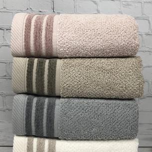 Набор полотенец для ванной 4 шт. Pupilla ZUMA хлопковая махра 50х90