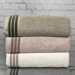 Набор полотенец для ванной 4 шт. Pupilla ZUMA хлопковая махра 70х140