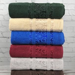 Набор полотенец для ванной 6 шт. Cestepe VIP COTTON HAYAL хлопковая махра 70х140