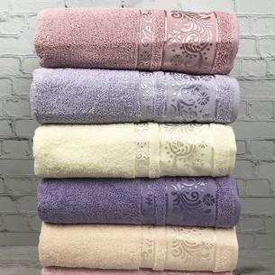 Набор полотенец для ванной 6 шт. Cestepe VIP COTTON ALINA хлопковая махра 70х140