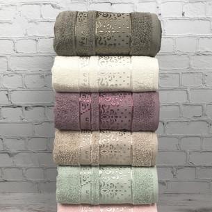 Набор полотенец для ванной 6 шт. Cestepe VIP COTTON MARINA хлопковая махра 50х90