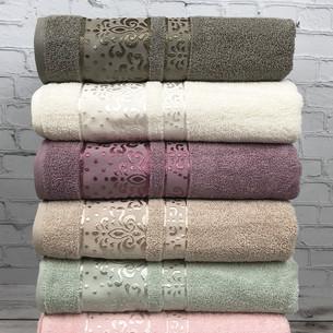 Набор полотенец для ванной 6 шт. Cestepe VIP COTTON MARINA хлопковая махра 70х140