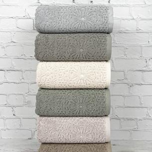 Набор полотенец для ванной 6 шт. Pupilla ROMAN хлопковая махра 50х90