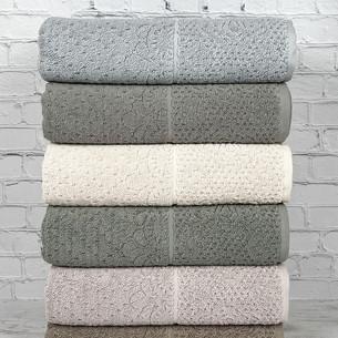 Набор полотенец для ванной 6 шт. Pupilla SULTAN хлопковая махра 70х140
