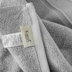 Полотенце для ванной Karna VIANA ZERO TWIST микрокоттон хлопок серый 70х140, фото, фотография