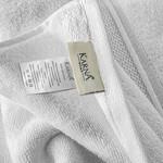 Полотенце для ванной Karna VIANA ZERO TWIST микрокоттон хлопок белый 70х140, фото, фотография