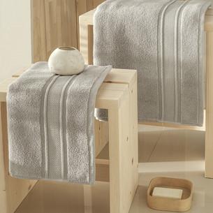 Полотенце для ванной Karna VIANA ZERO TWIST микрокоттон хлопок бежевый 50х90